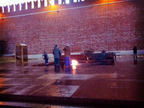 eternal flame in Moscow ©  quirischa