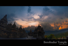 [when the day has gone] EXPLORED (Edward Yd) Tags: indonesia ngc borobudur goldenhour 2012 week46 nikkor105mmfisheye nikond700 522012 52weeksthe2012edition weekofnovember11