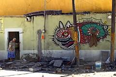 2602 (Yolo Axolotl) Tags: streetart color art mxico canon calle grafitti oldlady urbano anciana construccin puebla barrio artecallejero xanenetla t1i yoloaxolotl