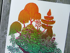 """CLOD"" Woodcut (Close-up) (Tugboat Printshop) Tags: printmaking woodblockprint thefourelements woodcutprint reliefprintmaking theelements tugboatprintshop woodcutprints thefourelementsprints"