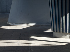 20120808_0646 (casually, krystina) Tags: light paris wall shadows ground abstraction supports