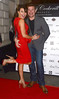 Lizzie Cundy and Phil Turner, Pro Lashes by Gary Cockerill Beauty launch at Charles Fox Kryolan - Arrivals London, England