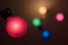 bokeh of christmas lights (Real Cowboys Drive Cadillacs) Tags: blue bokeh christmas december green holidays light lights macro micro nikon40mm nikond7000 november pink red series winter yellow lakejackson texas unitedstates mygearandme