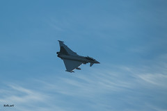 Typhoon Over Roxburgh (Rob_ert) Tags: scotland flickr unitedkingdom typhoon kelso scottishborders roxburgh militaryjet lowflyingjet panasonicfz45