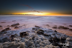 Sunrise at St James Beach (Mujahid's Photography) Tags: sunrise southafrica capetown westerncape 1635 nd8 stjamesbeach impressedbeauty longexpoaure nikond800 mujahidurrehman nikon1635mm mujahidsphotography saintjameswalk