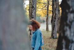 (elena vousaime) Tags: trees film 35mm woods minolta 400 vera portra x700