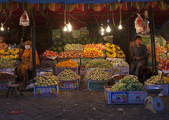 Uyghur Shopkeepers Selling Fruits, Yarkand, Xinjiang Uyghur Autonomous Region, China (Eric Lafforgue) Tags: china travel people woman man tourism scale horizontal fruit outside person waiting day outdoor muslim chinese peach citylife pomegranate watermelon uighur xinjiang silkroad customer daytime uyghur minority grape foodanddrink anthropology ethnicity sociology shopkeeper peoplesrepublicofchina coveredface autonomy dayview turkic humanright uygur ouigour colorpicture ethnicgroup img7577 colourpicture xinjianguyghurautonomousregion easternandcentralasia turkicethnicgroup