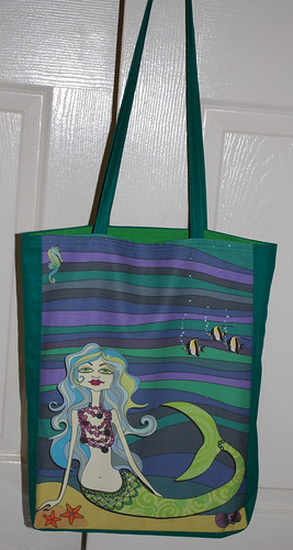 Tote bag - Ondine the mermaid & friends