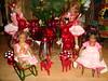 Kindergarten Minis (Kindergartenkinder) Tags: weihnachten reki dolls advent annette puki 2011 himstedt lillemore kindergartenkinder leleti