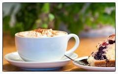 Full Steam Latte at Skipping Stone Cafe & Store (Authentic Seacoast Company) Tags: coffee novascotia latte guysborough guyborough