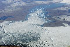 Icebergs on the move, western Greenland (cocoi_m) Tags: nature arctic greenland western iceberg geology atlanticocean davisstrait ilulissat diskobay