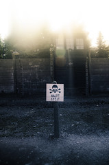 HALT! STJ! - Auschwitz concentration camp, Poland (inhiu) Tags: camp danger concentration nikon nazi poland jewish auschwitz halt stj d7000 inhiu
