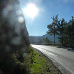 """The road on today's walk <a style=""""margin-left:10px; font-size:0.8em;"""" href=""""http://www.flickr.com/photos/59134591@N00/8247811236/"""" target=""""_blank"""">@flickr</a>"""
