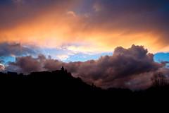 Bellver de Cerdanya (efe Marimon) Tags: nubes puestadesol bellverdecerdanya canoneos500d