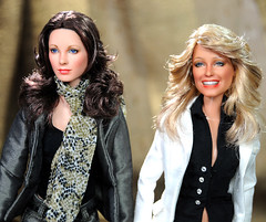 one of a kind Jaclyn Smith and Farrah Fawcett dolls (ncruzdolls) Tags: celebrity toys doll action munroe jackson cruz angels artdoll duncan fawcett ladd tonner artistdoll repaint jaclynsmith barbieooak toyshot artist16 angelscharlies repaintdoll dollmattel dollooak dollsabrina dollcustomized barbiecustom figure16 repaintooak jaclynsmithdoll dollnoel figureonesixth figurehot figurenoel kellygarrettdoll cruzncruznoel repaintnoel photographyfarrah dollfarrah dollcharlies dollscharlies dollcheryl laddcheryl dollkris dollkate jacksonkate duncansabrina