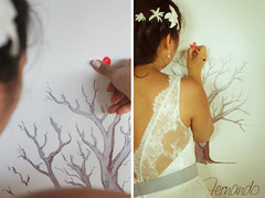 Caroline e Fernando (A MODISTA LOJA) Tags: wedding tree love vintage bride amor fingers marriage retro amour casamento bridal amore liebe beachwedding noiva casorio fiancee mariee vestidodenoiva modista amodista casamentonapraia vestidadenoiva lojaamodista atelieramodista noivasamodista noivaretro casorionapraia bohobride bohobridal vintagebeachweddin retrobeachwedding