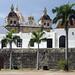 Vista della chiesa di San Pedro Claver dalle mura esterne della città vecchia