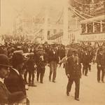 (animated stereo) Naval veterans parade (circa 1895) thumbnail