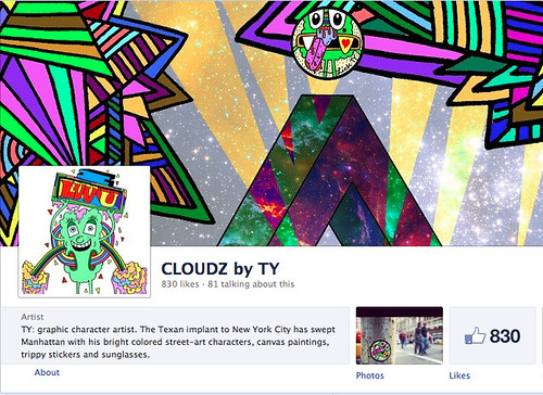 1000 #CLOUDZbyTY FANS by 2013