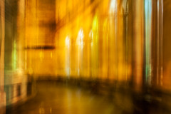 Library Walk (maxblackphotos) Tags: winter england rain manchester streetlights library townhall icm damp sodiumlighting librarywalk northwestengland rainingagain centralmanchester intentionalcameramovement maxblack