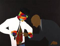 The Incredulous. 146 x 114 cm. Acrylic on linen. 2011