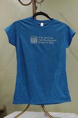 Old Fashioned Girl (made by mauk) Tags: screenprint craft tshirt oldfashioned madebymauk maukrulz
