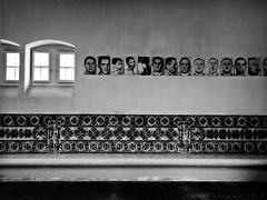 The meeting room (isolano.) Tags: window hospital bench tile room madness asylum