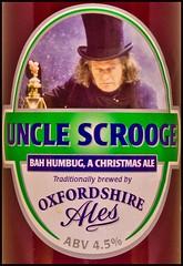 My Kind of Christmas Cheer (Dave Hanmer) Tags: christmas beer pentax sigma scrooge 1770 k5 unclescrooge justpentax oxfordshireales