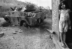 War and Poverty (De-colorized) (Kelly Short6) Tags: black white christina blandon national geographic james nachtwey documentaryphotography war warfare poverty poor poorpeople poorchild nicaragua socialissues suffering