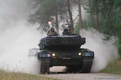 KPz Leopard 2 A6 (Combat-Camera-Europe) Tags: army armee bundeswehr heer panzer pzbtl germanarmedforces exercise exercises pzbtl33 tank tanks nato otan kmweg rheinmetall luttmersen leopard2a62 leopard 2 mbt mainbattletank bung bungen
