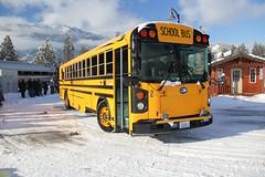 2016 Bluebird T3RE4006 #2 (busdude) Tags: 2016 bluebird t3re4006 2 cascade school district 228 cascadeschooldistrict bus schoolbus leavenworth washington amtk amfleet amtrak alki tours snow train alkitourssnowtrain