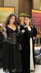 Bellatrix LeStrange and Narcissa Malfoy! (Romanopolis) Tags: dragoncon2016 marypoppins family fun robin r2d2 tedroman timroman udreplicas dawnofjustice armoredbatman deadrobin harrypotter bellatrixlestrange