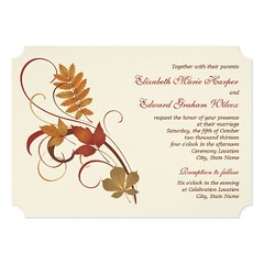 (Wedding Invitation | Autumn Fall Leaves) #Autumn, #Chic, #Classic, #Elegance, #Elegant, #Fall, #Foliage, #Formal, #Leaf, #Leaves, #Maple, #Oak, #Rustic, #Scroll, #Style, #Stylish, #Swirl, #Theme, #Traditional, #Wedding, #WeddingCollections is available o (CustomWeddingInvitations) Tags: wedding invitation | autumn fall leaves chic classic elegance elegant foliage formal leaf maple oak rustic scroll style stylish swirl theme traditional weddingcollections is available custom unique invitations store httpcustomweddinginvitationsringscakegownsanniversaryreceptionflowersgiftdressesshoesclothingaccessoriesinvitationsbinauralbeatsbrainwaveentrainmentcomweddinginvitationautumnfallleaves weddinginvitation weddinginvitations