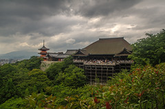 Kiyomizudera Temple (www78) Tags: kiyomizudera temple kyoto japan main hall pagoda