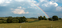 Rainbow | Amish Country - OH (Pordeshia) Tags: holmes amishcountry amishcountryohio millersburg amish rainbow colors sky