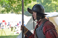 Standing Guard (MWBee) Tags: civilwar soldier guard waltonhallgardens walton warrington cheshire mwbee nikon d750 armour helmet pyke