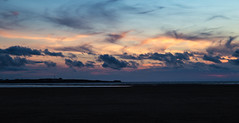 Hilbre Island at Sunset (cathbooton) Tags: tranquil beautiful riverdee hilbreisland seascape outdoor silhouettes tripod canon6d canonusers canoneos colour clouds sky summer sunset sea coast wirral island