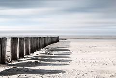 Beach of Hollum / Ameland (uw67) Tags: beach ameland wattenmeer nordsea holwerd water nikond60 uwepotthoff stand nordsee sea