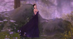 641 - Sweet Enchanted Night (Sannita_Cortes) Tags: secondlife sl styles virtualworld virtualfashion fashion female enchanted gown roses exile bpd beyondpersuasiondesign lalochezia twe12ve