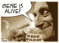 Gene Lives (Moise-Creativo Galattico) Tags: editoriali moise moiseditoriali editorialiafumetti giornalismo attualit satira vignette genewilder