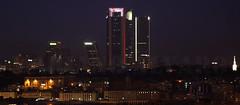Noche de Madrid (Mariano Alvaro) Tags: madrid cba cuatro torres noche luces