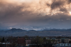 Mount Evans Sunset (Kevin Bauman) Tags: mountains mtevans mountain mountevans colorado continentaldivide denver frontrange
