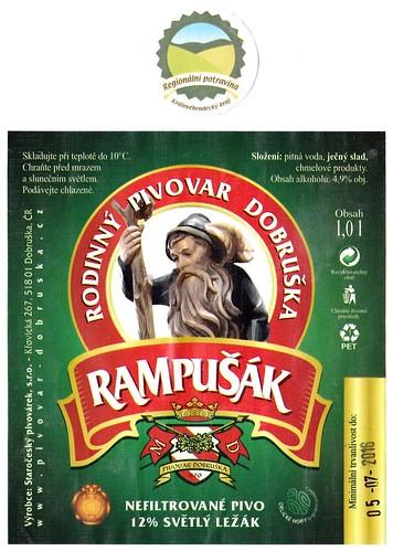Rampušák 12°, 2016, Dobruška