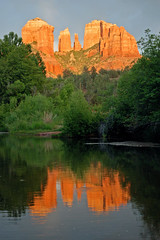 cathedral rock, sunset (BehindBlueEyes) Tags: az arizona sedona nature cathedralrock