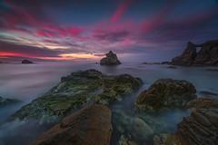 Cala Dels Frares sunrise (Gian Paolo Chiesi) Tags: lloret de mar canon 5d mkiii filters sunrise seascape spain rocks waterscape costa brava