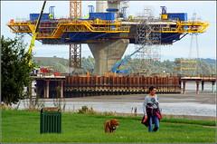 Mersey Gateway Project (Northern Pylon) 28th September 2016 (Cassini2008) Tags: merseygatewayproject mersey merseylink formtraveller rubricaengineering rubrica bridgeconstruction widnes spikeisland cablestayedroadbridge cofferdam