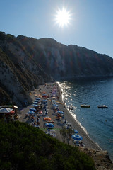 Isola d'Elba Spiaggia Sansone (m.a.r.c.i) Tags: fujifilm xe1 fujinon xf1855mmf284 toskana toscana elba isoladelba landschaft landscape italien italy italia nature marci mare meer sea sonnenuntergang sunset silhouette strand spiaggia beach sansone