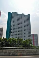 Apartemen Green Pramuka (BxHxTxCx (more stuff, open the album)) Tags: jakarta gedung building apartemen apartment