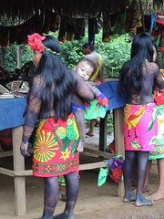 DSCN0985 (KaDresel) Tags: children rainforest child panama embera villiage artisian nativeboy nativewoman villiagelife emberaboy emberawomen emberavilliage nativevilliage