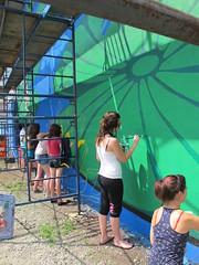 MU_LEMARAIS_2011_02_creditsphotoMU (MUmtl) Tags: streetart mural montreal mu roadsworth artpublic verdun lemarais murale arturbain petergibson phillippeallard